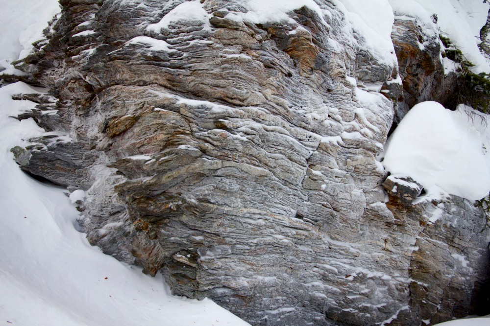 Swirly rock