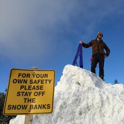 "I don't ski beacuse it's ""safe"""